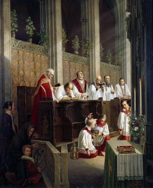 оценку рисунка католические церкви в картинах художников кортики