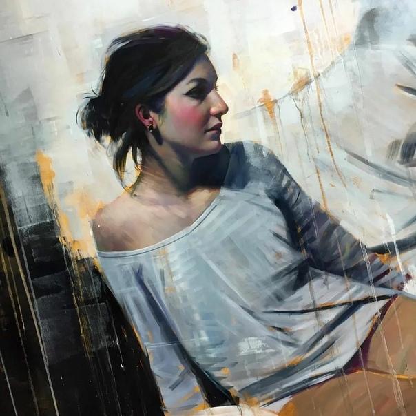 «Иллюзии реальности» точно описывают эстетику живописи Алпая Эфе, как отдельных панно, так и его работ в целом