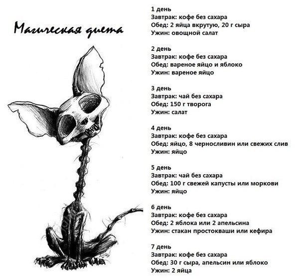 Картинка Магическая Диета.