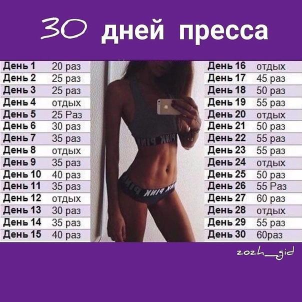 График Упражнений Для Похудения На Месяц. Простые и эффективные упражнения для снижения веса в домашних условиях