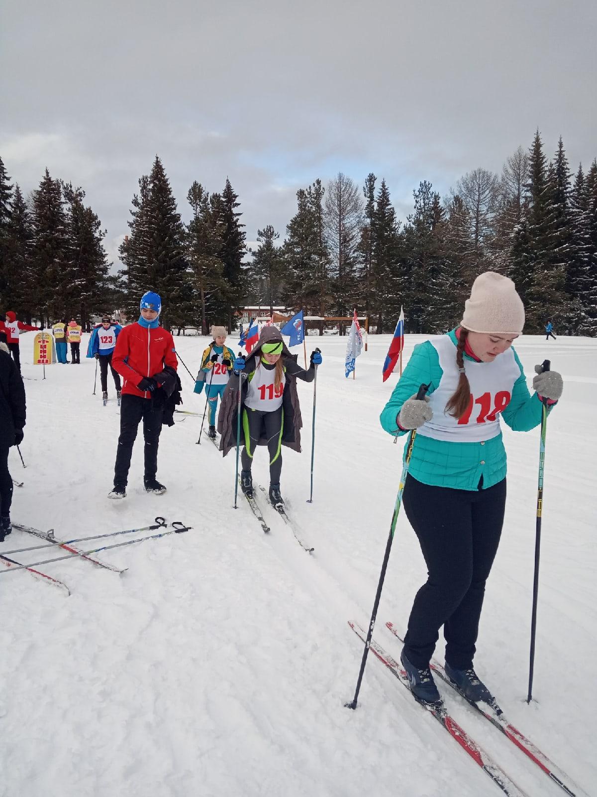 2020 первенство  по лыжным гонкам
