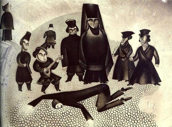 Иллюстрации для произведения Ф.М. Достоевского. Преступление и наказание