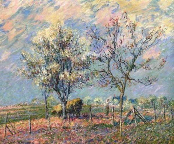 Французский художник-постимпрессионист Гюстав Луазо (1865-1935)