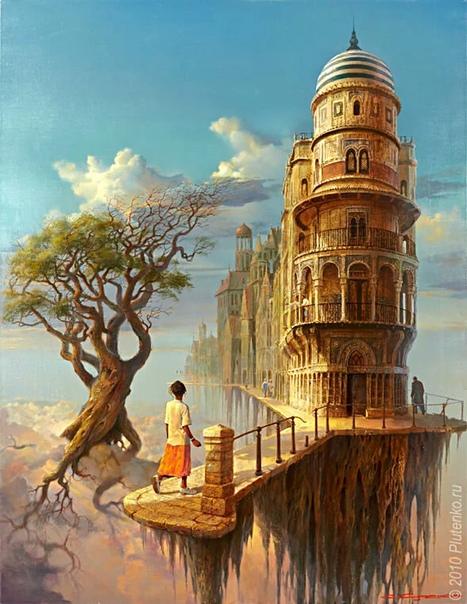 Художник Станислав Плутенко. Его картины великолепны, мастерство не поддается сомнению, а необычный взгляд на мир одинаково приковывает внимание как маститых критиков, так и рядовых обывателей,