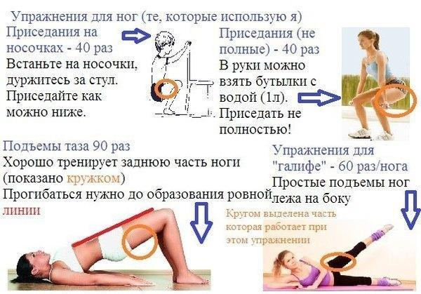 Что Нужно Делать Для Похудения Ляшек. Секреты стройности ног: как похудеть в ляшках быстро и эффективно?