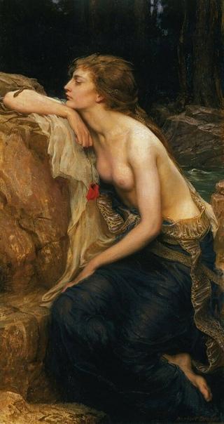 Ламия на картинах прерафаэлитов