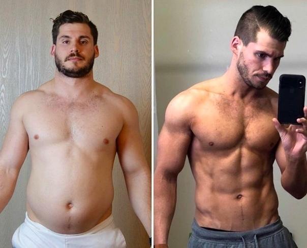 Как похудеть и подкачаться парню