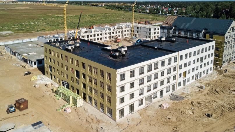 Отчет о ходе строительства квартала «Среда» июнь 2020, изображение №21