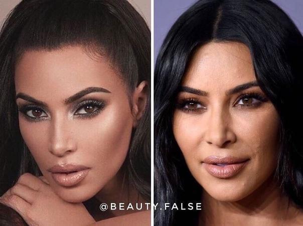 В соцсетях показали, как выглядят современные модели, актрисы и теледивы в реальной жизни