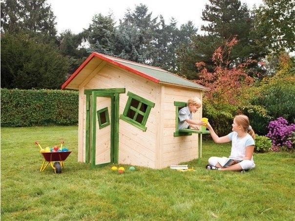Детские домики на даче