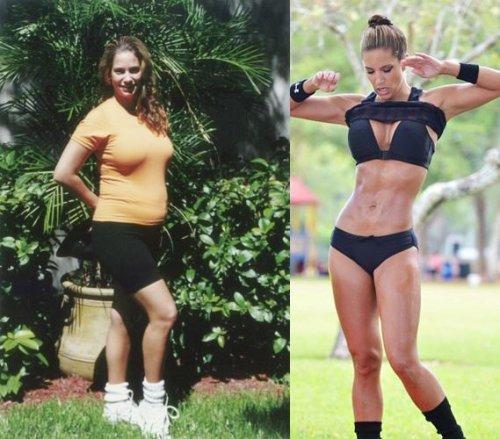 Перестала заниматься спортом похудела
