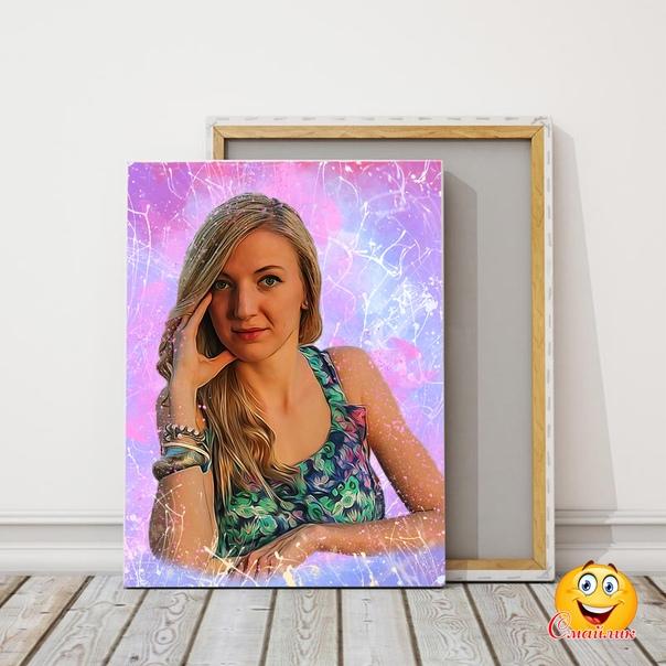 создать свой портрет по фото кольцевые