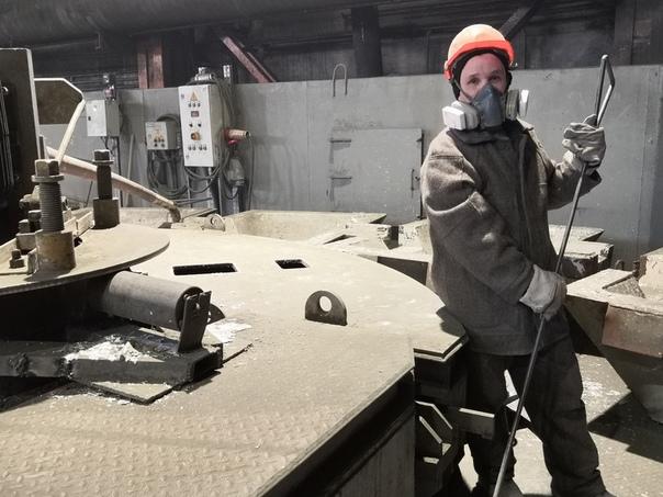 В металлургическом цехе филиала ПСЦМ появились две новые рафинировочные печи.
