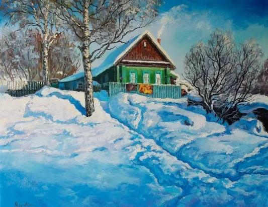 ПУТНИК Ветер поднялся еще днем, сдувая с крыш и палисадников снег, бросая его мелкими колючими крупинками в лицо. К вечеру непогода разыгралась, и по всему было видно, что завьюжило до самого