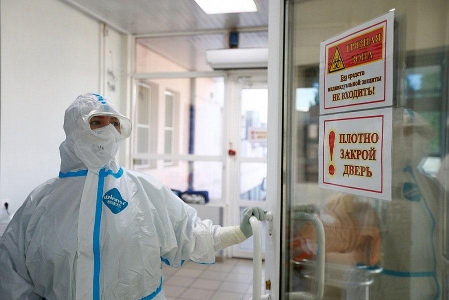В ковидных госпиталях Краснодарского края скончались 13 пациентов⠀Летальные...