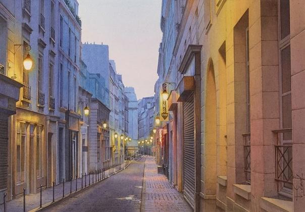 Тьерри Дюваль (Thierry Duval - талантливый французский художник, который пишет картины акварелью. Художник стал довольно известен за счёт своего мастерства и необычайно реалистичной техники. Его