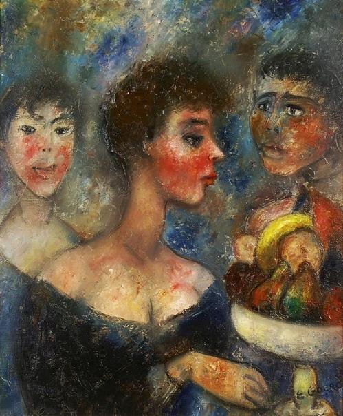Эдуард Горг. Одна из главных фигур французского экспрессионизма Эдуард Горг был учеником Поля Срузье и Мориса Дени в Академии Рансона в Париже, где он учился с 1913 по 1914 год . Там он