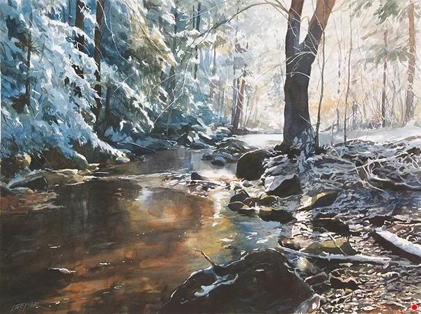 Кристофер Липер - художник из Кэнфилда (Огайо, США . Он окончил Янгстаунский государственный университет в 1988 году со степенью бакалавра искусств в области графического дизайна. С 2000 года он