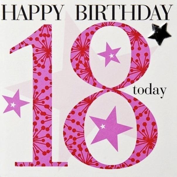 Поздравления для подруги с восемнадцатилетием в прозе