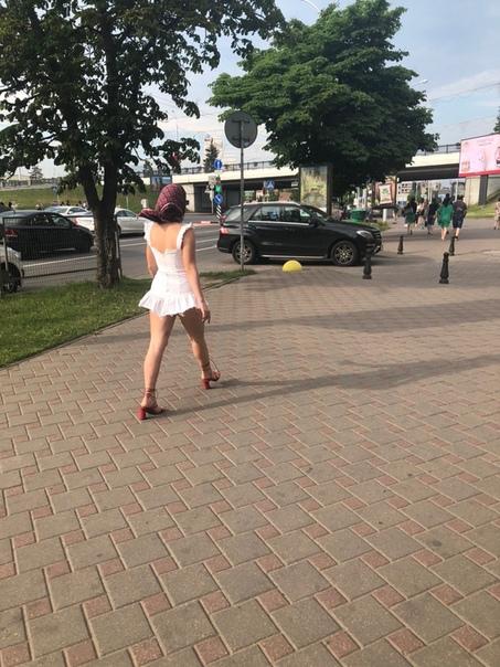 Немного лета в ленту - Минск . Зато в косынке. Православная наверное