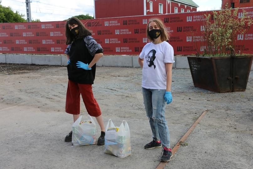 «Территория передышки» передала более 600 продуктовых наборов бездомным людям