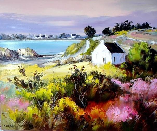 Художник Michel Vezinet Родился во Франции в 1957 г.