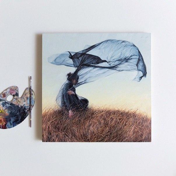 Лаура Притчетт (Laura E Pritchett) современный художник самоучка и фотограф. Живет на юге США. Рисует с самого детства, а уже в 14 лет начала продавать свои картины. Вдохновение черпает у таких