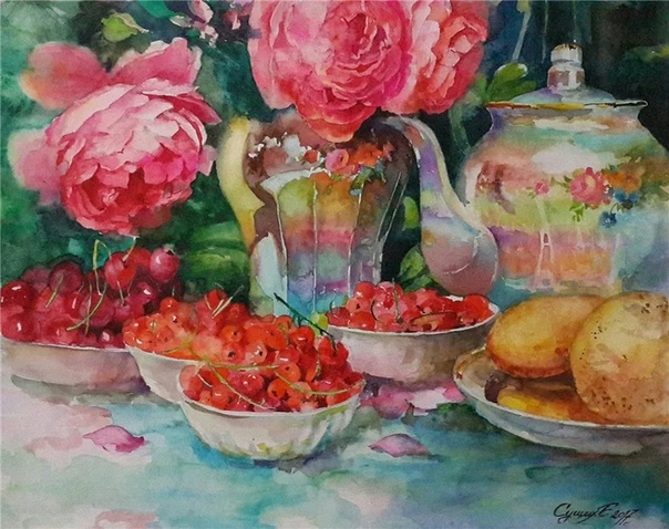Художник Елена Александровна Сущих родилась в 1973 году В 1989 году закончила Художественную школу города Елизово, Камчатской области. В 1996 году закончила Хабаровский государственный