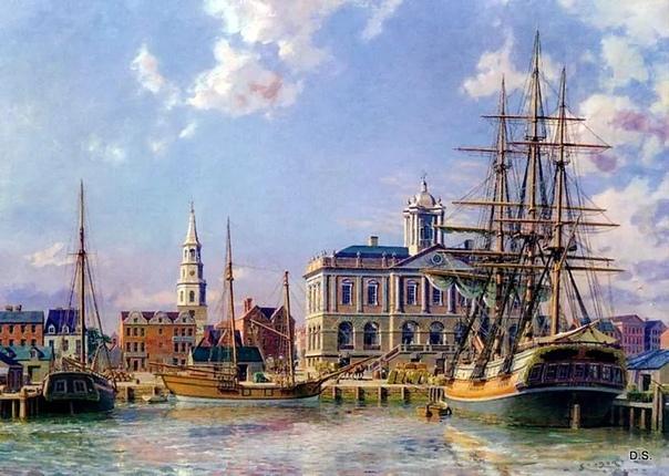 John Stobart Британский морской художник, известный своими картинами с изображением американских гаваней времен Золотого века парусного спорта